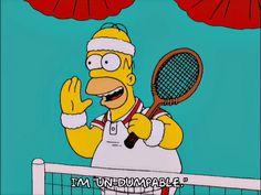 homer simpson season 12 tennis episode 12 12x12 cant be dumped via diggita.it #tennis