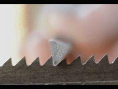 Sharpening filing hand saw teeth rake example Woodworking Bandsaw, Woodworking Hand Tools, Woodworking Techniques, Woodworking Projects, Saw Sharpening, Best Garden Tools, Wood Shop Projects, Wood Joinery, Hand Saw