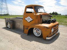 rat rod | Hot Rod e Kustom: Ford Truck COE 1952 Rat Rod.