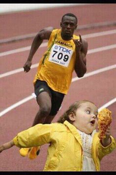 Not this time Usain!!