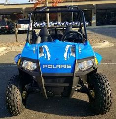 New 2017 Polaris RZR 170 EFI VooDoo Blue ATVs For Sale in North Carolina. 2017 Polaris RZR 170 EFI VooDoo Blue, 2017 Polaris® RZR® 170 EFI VooDoo Blue Includes safety flag, helmet and instructional DVD Parent-adjustable speed limiter Electronic fuel injected (EFI) 169 cc engine Features may include: YOUTH ALL NEW! Colors & Graphics Check out the All NEW! Colors on Outlaw, Sportsman®, and Phoenix Electronic fuel injected (EFI) 169 cc engine EFI for consistent starting, improved idle…