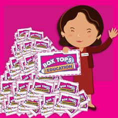 Behind every pile of Box Tops is a dedicated Coordinator! It's true -- every Box Tops clip that gets turned in to your school is counted, sorted and mailed by your Coordinator. Say thanks if you haven't already -- they're great!