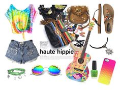 """""""Untitled #5"""" by nejraefendic ❤ liked on Polyvore featuring Haute Hippie, Coconuts, Bling Jewelry, Uncommon and OPI"""