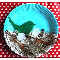 take a walk and talk about what birds make their nests out of and have them collect things to make a nest
