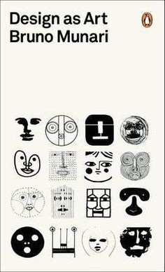 'Design as Art' by Bruno Munari. Cover design by Bruno Munari Buch Design, Design Art, Web Design, Logo Design, Modern Design, Graphic Design Projects, Art Designs, Amsterdam Museum, Penguin Modern Classics