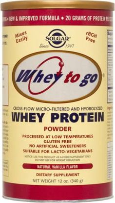 cheap for discount 20327 140f4 Low FODMAP products · Solgar Whey To Go® Protein Powder Natural Vanilla  Flavor. Less than one gram of