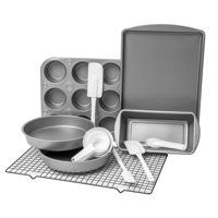 Bakereze 20 Piece Bakeware Set With Cooling Rack And Essential