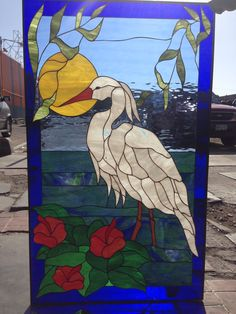 Make your remodel or new construction extra special with one of our lovely made to order stained glass windows!   (custom designs welcomed) www.stainedglasswindows.com 619 454-9702 stainedg@aol.com  #stainedglass #stainglass #artglass #custom #windows #decrotiveglass #windowtreatments #cabinetinserts #stainedglass #beautiful #gorgeous #privacy #swan #crane #colorful Custom Stained Glass, Stained Glass Panels, Leaded Glass, New Construction, Glass Art, Custom Design, Victorian, Custom Windows, Beautiful Gorgeous