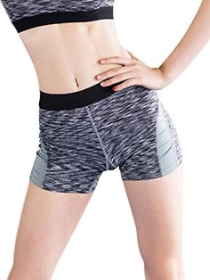 a770d2d716 Women's Stretchy Breathable Yoga Sport Athletic Activewear Gym Quick Dry  Shorts for Sport