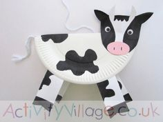 Nice and funny Farm Craft Cow Art Project - Simple Mother Project, Art Cow Craft Cute Farm .Nice and funny Farm Craft Cow Art Project - Simple Mother Project, Art Cow Craft Cute Farm Farm Animal Crafts, Animal Crafts For Kids, Crafts For Kids To Make, Toddler Crafts, Preschool Crafts, Kid Crafts, Crafts Toddlers, Kindergarten Crafts, Dinosaur Crafts