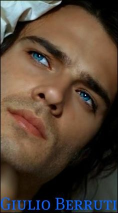 "Wow!  Giulio Berruti may be ""the one.""  He's the image of our Roman hero, Quintus Magnus, with his deep blue eyes."