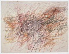 Cy Twombly - Untitled (1954) ...perfect for a windy day like today...