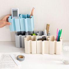 Puzzle Pieces Pen Holders