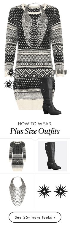 """Untitled #1895"" by mermaids533 on Polyvore featuring WearAll, Marina Rinaldi, Avenue and Christina Debs"