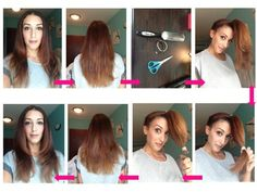 How Easy Cut Layers Into Your Own Hair
