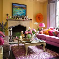 Living room | Eclectic Victorian terrace in London | House tour | PHOTO GALLERY | 25 Beautiful Homes | Housetohome.co.uk