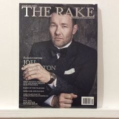 Here's the new Rake with #joeledgertin on the cover. @therakeonline #mensfashion #mensstyle #tailoring #sartorial #rothschild #moncler #zai #haute #horlogerie #paulfeig #jackreynor #michaelnouri