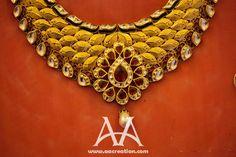 Indian wedding jewelry from Herjot ceremony