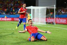 3-1: Chile gana a Australia con más apuros de lo previsto
