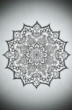 mandala thigh tattoos for females - Google Search