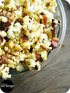 Mom's Test Kitchen: Candied Bacon Caramel Corn