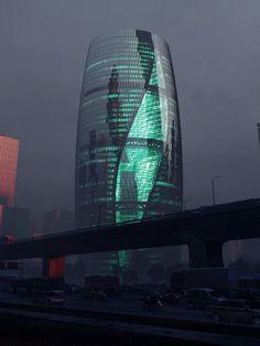 Zaha Hadid Architects presents Leeza SOHO skyscraper in Beijing - . - Zaha Hadid Architects presents Leeza SOHO skyscraper in Beijing – - Zaha Hadid Architects, Arquitetos Zaha Hadid, Modern Architects, Futuristic Architecture, Contemporary Architecture, Amazing Architecture, Art And Architecture, Sustainable Architecture, Contemporary Design