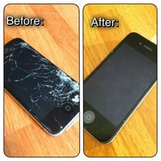 How to Replace a Broken iPhone Screen: This repair was just $25 and a few hours of @Spencer Sokol's time.