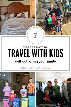 how to travel with kids and keep your sanity