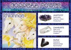 Goddess Power: Rhiannon!