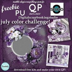 les scraps de NathL: july 2014 color challenge at digiscrapbookingstudio free kits and QP!