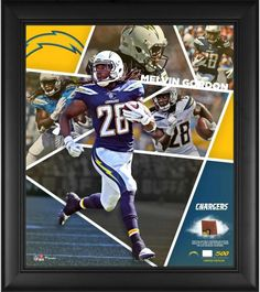 a39c19548 Melvin Gordon Los Angeles Chargers Framed 15