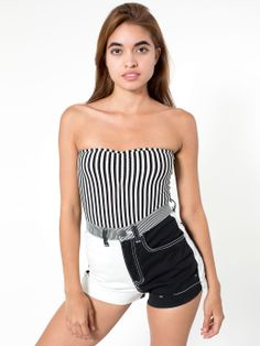 107 Best Black   White images   American apparel, Over 50, 50th 723b6fd73863