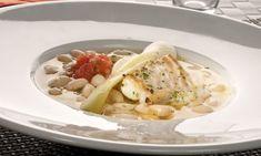 Receta de Alubias blancas con bacalao