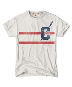 Double Stripe T-Shirt in Vintage White | Champion | Frank Ozmun Graphic Design