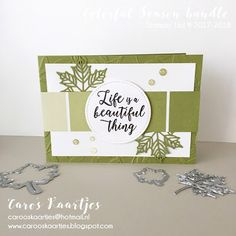 Stampin' Up!, Color Theory, Colorful Season bundle, Seasonal layers thinlits, stitched shapes framelits, Layered Leaves Dynamic Textured Impressions Embossing Folder, happy life, life is beautiful