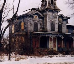 Abandoned and creepy
