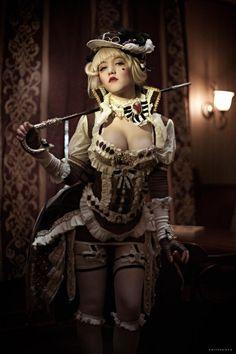 Steampunk Couture, Viktorianischer Steampunk, Steampunk Clothing, Steampunk Fashion Women, Steampunk Lingerie, Steampunk Outfits, Steam Punk, Steam Girl, Steampunk Cosplay