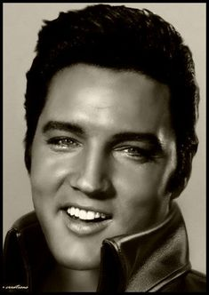 Elvis Presley (January 8, 1935 - August 16. 1977) photo 1968 age 33 #actor