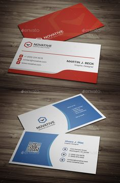 2 Business Cards Template PSD Bundle. Download here: http://graphicriver.net/item/business-cards-bundle-13/15500451?ref=ksioks