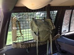 Good way to organize gear, and protect from break-ins.  Great for a BOV/ Overlanding rig
