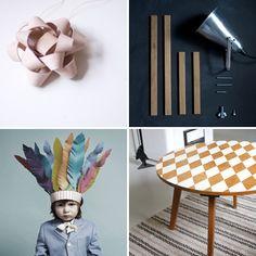 DIY ideas from DIY or DIE at Swedish ELLE Decor