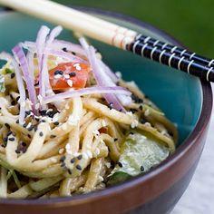 Peanut Butter/Sesame Udon Salad