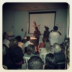 Lançamento do livro Práticas Bioxamânicas - Despertar das Capacidades Interiores de Samuel Souza de Paula com a presença dos índios da tribo Kayrrá Kariri-Xocó