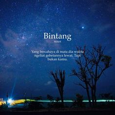 Bintang#commawiki Words Quotes, Love Quotes, Funny Quotes, Sayings, Quotes Lucu, Simple Quotes, Quotes Indonesia, Self Reminder, Good Advice