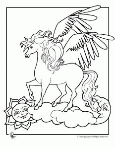 Printable Pegasus Coloring Pages For Kids | Cool2bKids | Colorbook ...