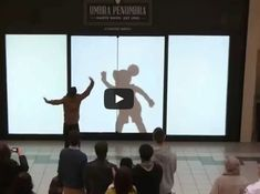"Recently the Disney characters made a ""discreet"" appearance in a shopping mall.  Who knew that Mickey was such a good dancer!  Check out the video here:   If you could have any Disney character be your shadow, which would you choose? FacebookTwitterE-mail"