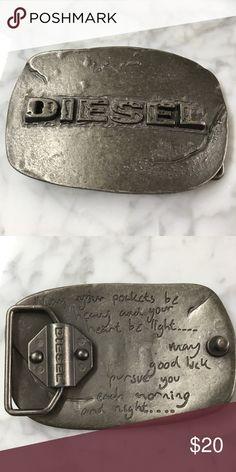 56cddee0146a DIESEL Belt Buckle Rock and roll! Diesel Accessories Belts Belt Buckles,  Shop My,