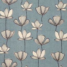 print & pattern john lewis blue and white Motifs Textiles, Textile Patterns, Textile Prints, Flower Patterns, Print Patterns, Art Prints, Boho Pattern, Pattern Art, Motif Floral