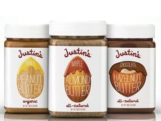 Justin's Nut Butter on Packaging of the World - Creative Package Design Gallery