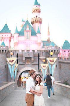 Vintage Disney Engagement   Engagement Shoot   Engagement Photos   Engagement Session   Photo by Brooke Aliceon